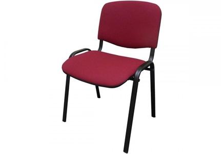 Krzesło konferencyjne ISO black LUX