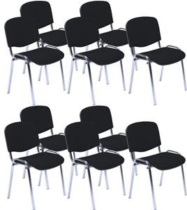 Krzesło konferencyjne ISO chrom w zestawie