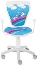 Krzesło obrotowe dziecięce Ministyle White Cartoons GTP TS22 Pony