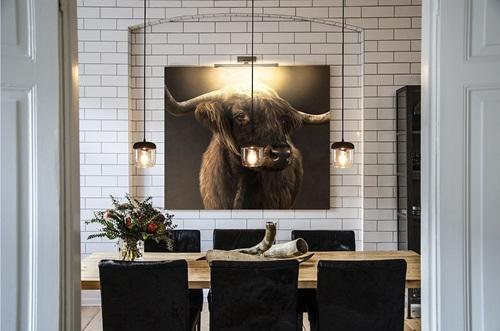 Żarówkowa lampa nad stół w jadalni Acorn