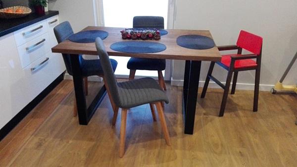 Nowoczesne aranżacje mieszkań krzesła Arosa pani Kasia