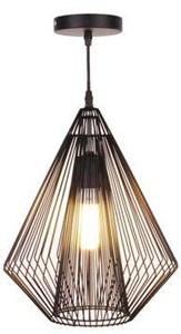 Druciana lampa wisząca Grid Pendant