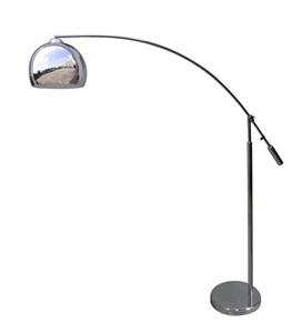 Chromowana lampa stojąca Manhattan Floor