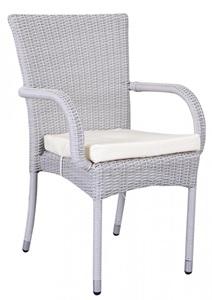 Krzesło ogrodowe technorattanowe z zestawu Nassico