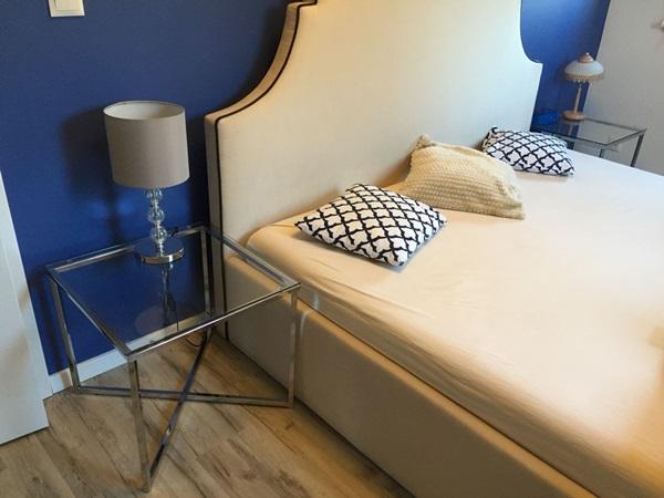 Aranżacja sypialni ze stolikiem Actona Cross od pana Łukasza