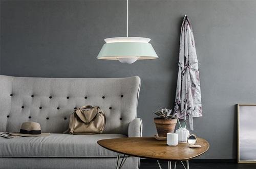 Vita Copenhagen Cuna lampa wisząca zielona miętowa