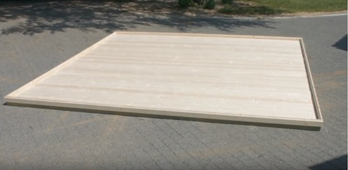 jak zbudować domek ogrodowy z drewna