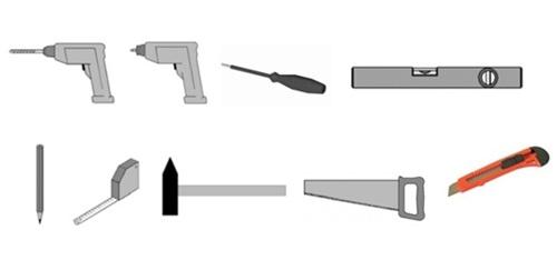 potrzebne narzędzia do budowy domku narzędziowego z drewna Megiw
