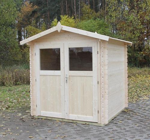 jak zbudować drewniany domek ogrodowy Ognik