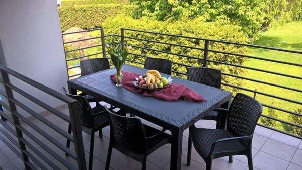 Zestaw ogrodowy stół i krzesła Melody 6B