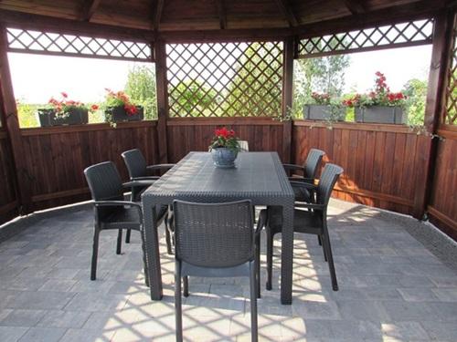 Stoły i krzesła ogrodowe Melody 6B