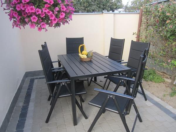 Stół ogrodowy i krzesła Sydney