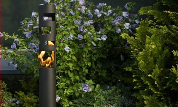 biokominek ogrodowy