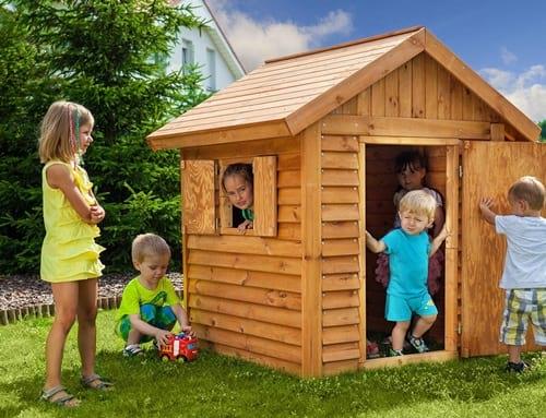 Domek ogrodowy dla dzieci drewniany My Place