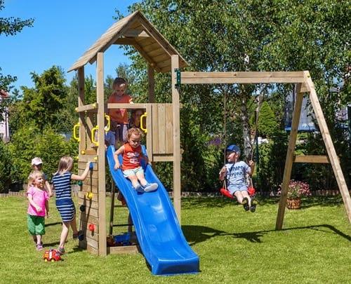 Domek ogrodowy dla dzieci modułowy Carol