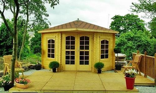 Domek drewniany Cyraneczka