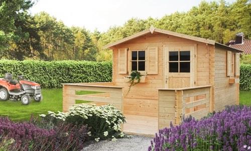 Domek drewniany Hiacynt