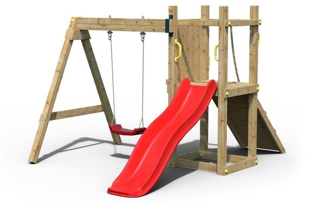 Drewniany plac zabaw dla dzieciFungoo Dexter
