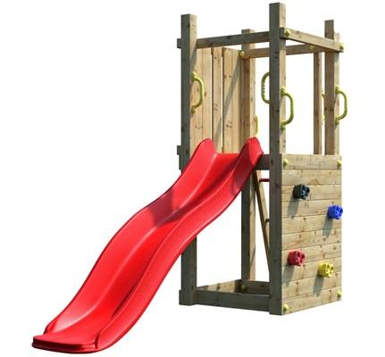 Drewniany plac zabaw dla dzieci Fungoo Leon