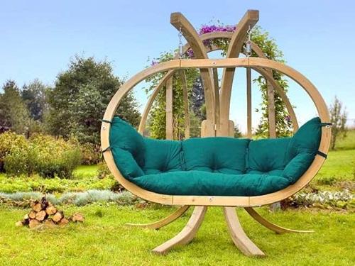 Fotel wiszący do ogrodu Kacper