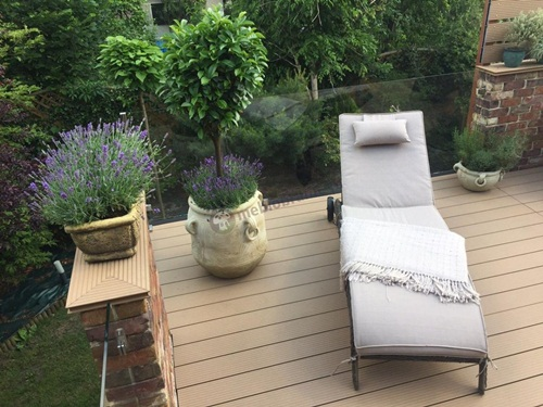 Leżak ogrodowy Altea