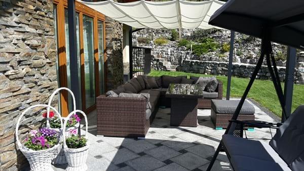 Modułowe meble ogrodowe Nilamito