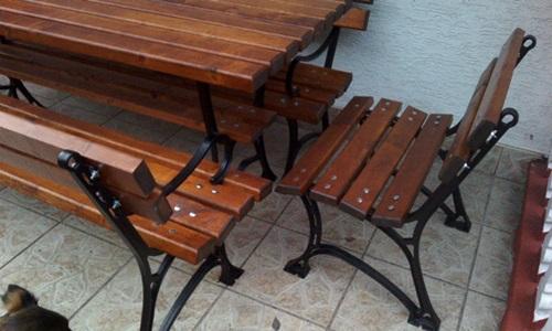 Meble ogrodowe drewniane - kilka porad pielęgnacyjnych