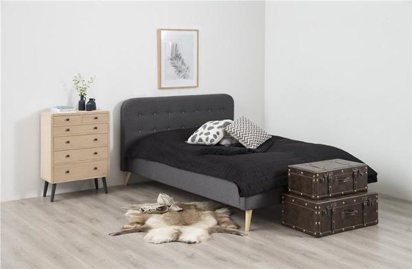 Nowoczesna sypialnia w bloku