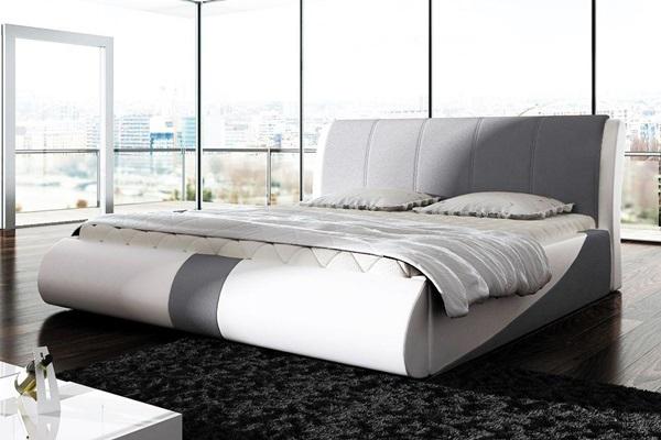 nowoczesne łóżko presto