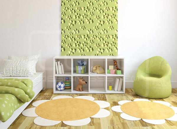 wzory paneli ściennych do pokoju dziecięcego