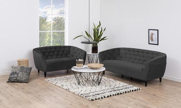 Aksamitna sofa Ria
