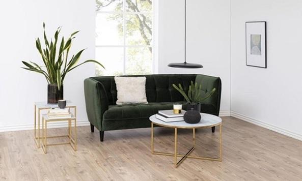 Jonna nowoczesna sofa na nóżkach
