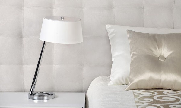 Lampki nocne do sypialni – styl