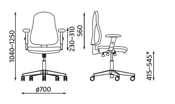 Ergonomiczne krzesło biurowe czyli zasady ergonomii w biurze