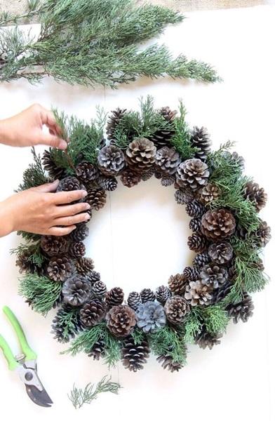 Stroik świąteczny Boże Narodzenie