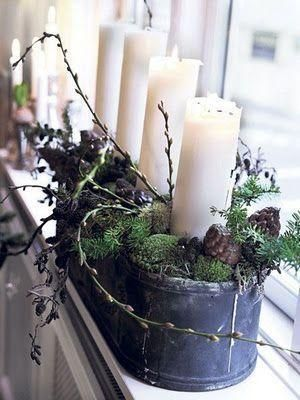 Jak zrobić stroik świąteczny z gałązek