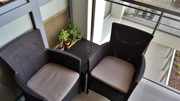 meble na mały balkon Rosario