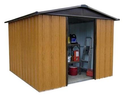 Domek ogrodowy metalowy Yardmaster Brown P Yardmaster 1013 WGY