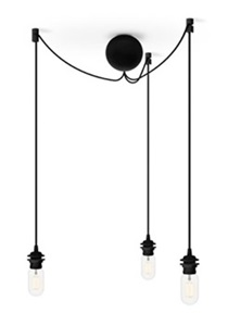 Lampy industrialne do salonu Cannonball
