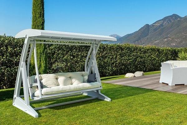 huśtawka ogrodowa poduszki