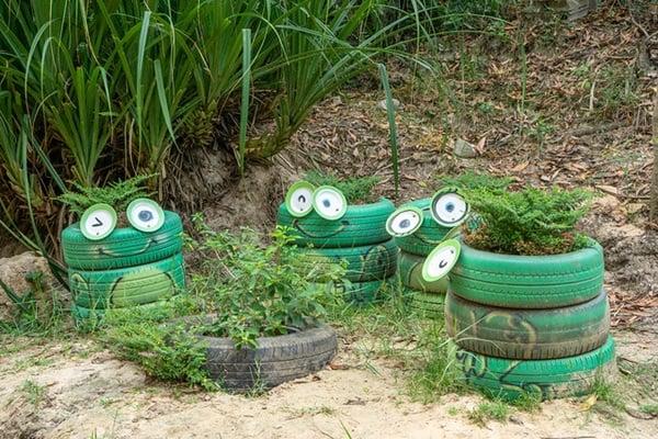 ozdoby do ogrodu jak zrobić