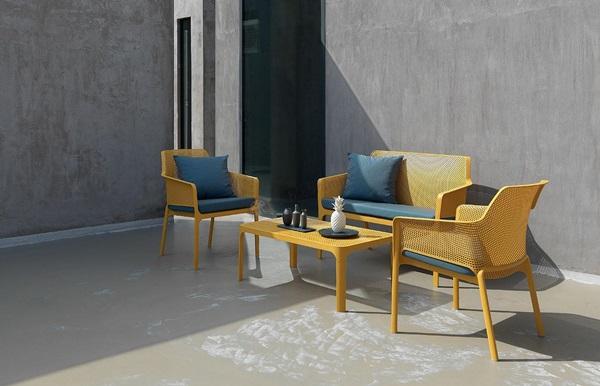 meble ogrodowe nowoczesne drewniane