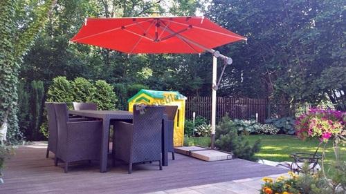 parasole ogrodowe cena