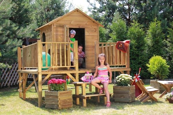 domek dla dzieci plan