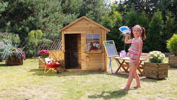 domek drewniany dla dzieci konstrukcja
