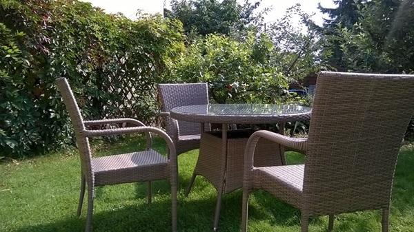 technorattan krzesła ogrodowe