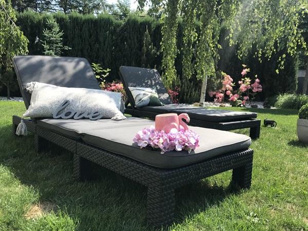 poduszki ogrodowe na leżaki
