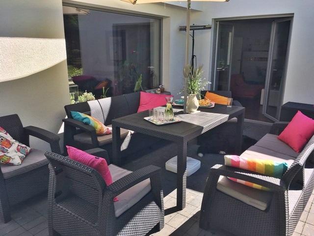 Modne i wygodne meble ogrodowe Corfu