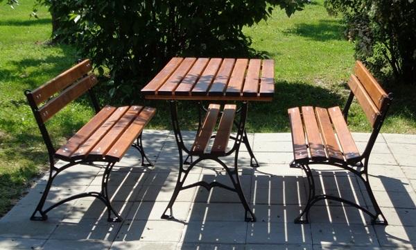 zestawy ogrodowe żeliwne