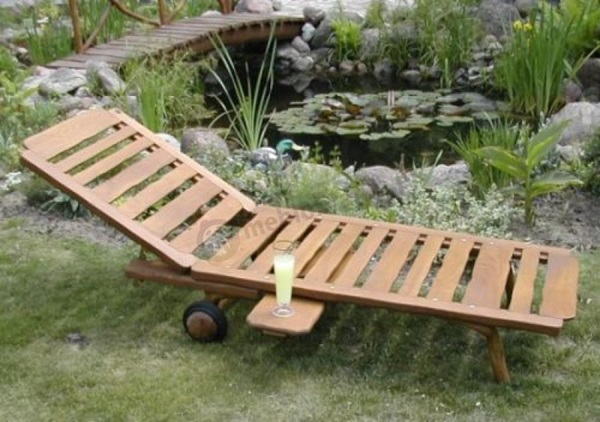 leżaki ogrodowe składane